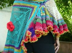 poncho5 http://whatnot2crochet.com/wordpress/