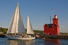 Michigan  (Holland Harbor Lighthouse)
