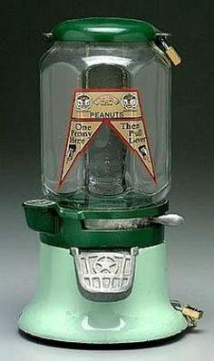 Antique Gum Amp Peanut Machines On Pinterest Gumball