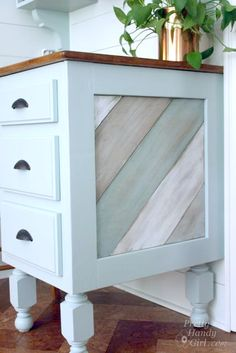 distressed wood furniture, diy furniture, soft colors, diy tutorial, diy paint wood furniture, diy distressed furniture, furniture projects, kitchen islands, diy projects