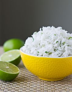 Learn the secrets to Chipotle Cilantro-Lime Rice. It all starts with the right type of rice cooked in an unusual way. | Chipotle Cilantro-Lime Rice {Copycat Recipe} | Culinary Hill