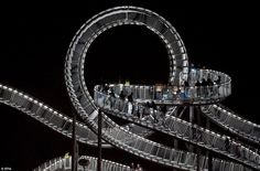 Tiger and Turtle Magic Mountain, designed by Heike Mutter and Ulrich Genth; Duisburg, Germany.