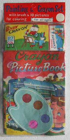 Crayon Picture Book