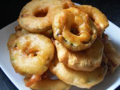 Beer-Battered Zucchini Rings