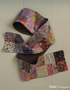 liberti, craft, quilt, sew project, patchwork scarf, sew idea, scarves, sew homegrown, diy patchwork