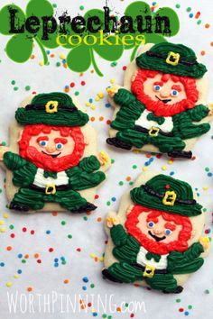 Worth Pinning: Leprechaun Sugar Cookies