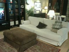 Ikea living room. <3