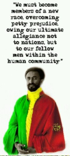 haile selassie, planet eart behavior