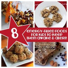 8 Energy-Filled Foods for kids to keep them awake and alert!