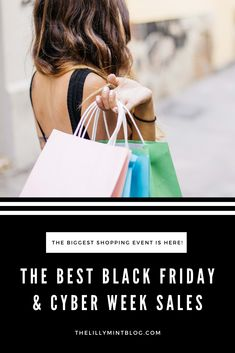 Your ultimate guide to shopping the sales this Black Friday! A full list of the most popular global retailers, complete with discounts and codes if required. #blackfriday #cyberweek