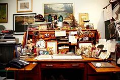 Mary Randolph Carter's Office At Ralph Lauren — Featured on The Selby