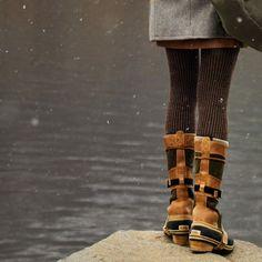 NEEEEEED these Sorel boots