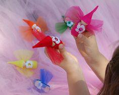 Flower Fairy Dolls (Set of 7). $26.00, via Etsy.