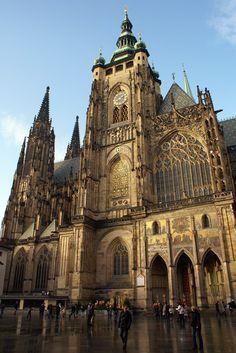 Czech. St. Vitus Cathedral, Prague, XIV century