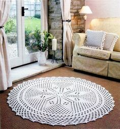 Twilleys--Crochet Rug
