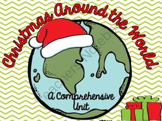 Christmas Around the World from Fabulous in 4th! on TeachersNotebook.com -  (69 pages)  - Want to teach your students about Christmas Around the World? This pack includes everything you need to teach your students about how different cultures celebrate Christmas!