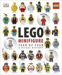 LEGO Minifigure Year by Year: A Visual History book. 50% off right now on Amazon! #giftguide #Christmas #LEGO