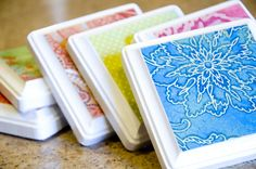 Coasters, a quick weekend project. ~ Mod Podge Rocks!