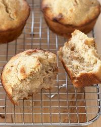 Onion-Walnut Muffins: Pureed onions form the base for these delicious, savory muffins.