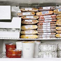 Some freezer recipes