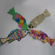 Fiches d'activité et idées de bricolage et loisirs créatifs: Poisson d'Avril .:. Bricokid
