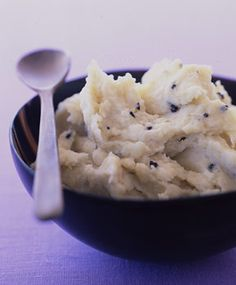 Celery-Root Purée with Truffle Butter
