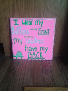 I wear my letters on my front because my sisters have my back. #deltazeta #dz #sorority #craft