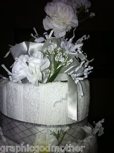 Elegant Simplicity Towel cake
