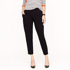New curator pant in matte jersey - novelty - Women's pants - J.Crew $168