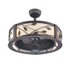 "Ceiling Fan Alternative - allen + roth 23"" Eastview Aged Bronze Ceiling Fan  Item #: 331091 