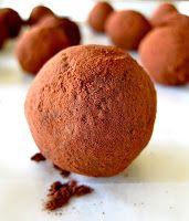 JULES FOOD...: Dark Chocolate Balsamic Truffles