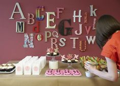 ABC baby shower ideas