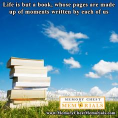 Life is but a book...