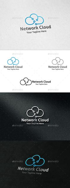 Network Cloud - Logo Template
