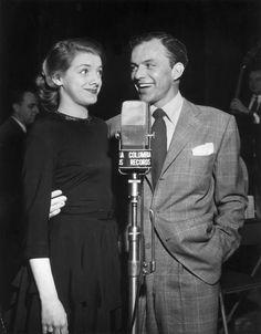 Rosemary Clooney and Frank Sinatra.