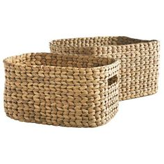 Storage nesting baskets, $34/set of 2