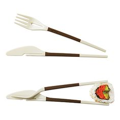FORK-KNIFE CHOPSTICKS  $10.00