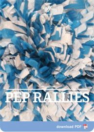 Spirit Raising – Pep Rallies these are really fun ideas! Excited to do one this Friday!
