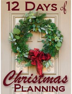 """""""12 Days of Christmas {Planning}""""!"""