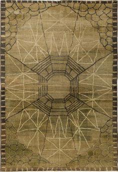 Anonymous; Wool Rug, c1940.