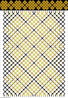 #24959 - friendship-bracelets.net. Free DIY bracelet pattern  knot instructions. celtic knot design.