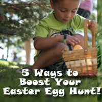 5 cool ideas to make your Easter Egg hunt awesome!