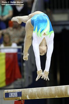 Ksenia Semenova 2009, gymnastics, gymnast  m.5.37 moved from @Kythoni Gymnast: Russian: Aliya Mustafina   Anna Pavlova   Viktoria Komova   Ksenia Semenova board http://www.pinterest.com/kythoni/gymnast-russian-aliya-mustafina-anna-pavlova-vikto/ balance beam #KyFun