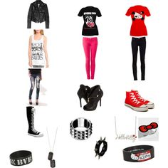 Outfits On Pinterest Scene Outfits Emo Outfits And