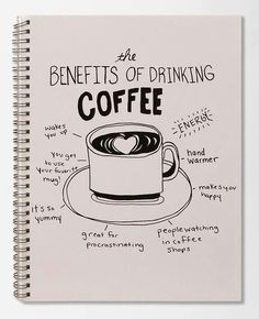 <3 the benefits of drinking coffee! <3 #myveganjournal