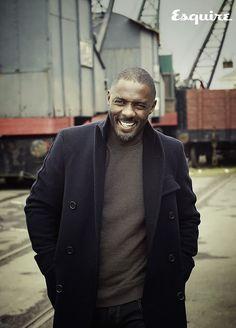 Por qué no hemos comentado lo de Idris Elba en la Esquire de octubre. Vamos a ver.