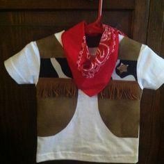 Cowboy toddler shirt