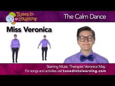 """Video - Autism Music Therapy Video: Miss Veronica's """"Calm"""" Dance"""