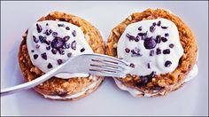 Vegan Gluten Free Pumpkin Cake with Carob Chips and Vanilla Cream | Calm Mind Busy Body