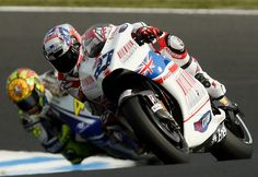 Valentino Rossi Casey Stoner Photos: MotoGP of Australia - Race